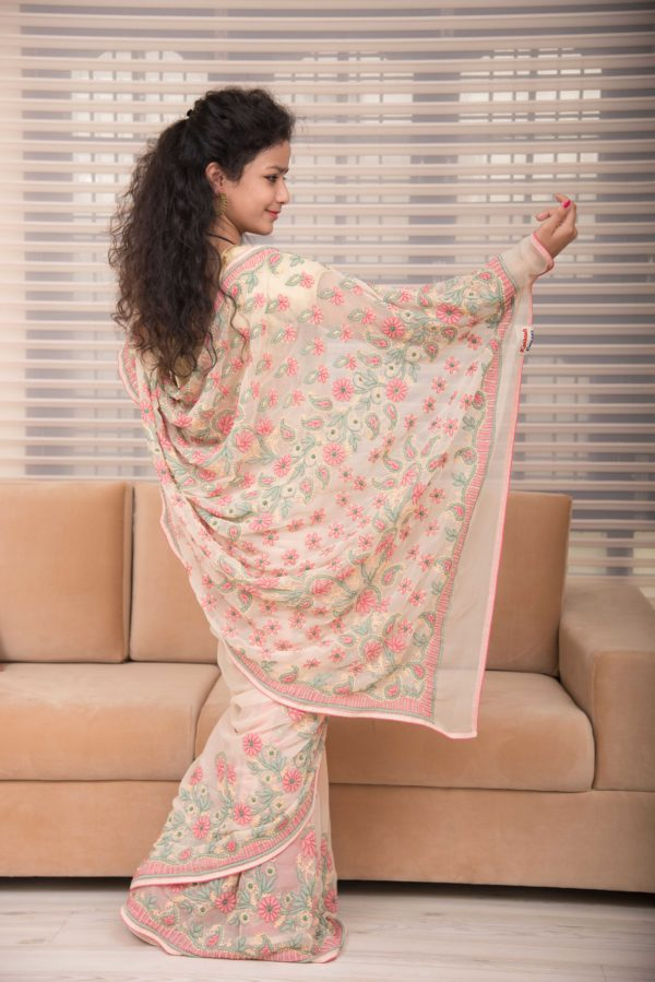 chikan-cotton-saree